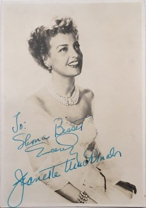 Jeanette MacDonald portrait 1940's 7