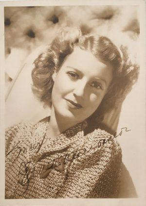 Jeanette MacDonald publicity portrait 1940s