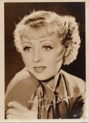 Joan Blondell 1930s publicity potrait 1