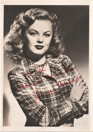 June Haver 1940s signed portrait (1)