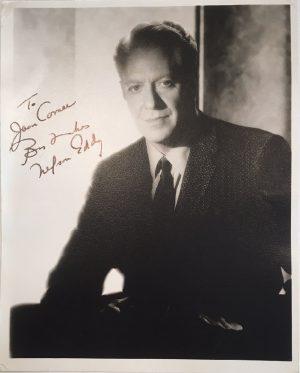 Nelson Eddy publicity portrait 1940s 1