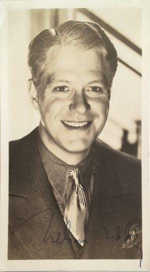 Nelson Eddy publicity portrait 1950s