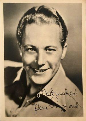 Gene Raymond publicity portrait 1940s