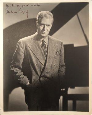 Nelson Eddy publicity portrait 1940s 2