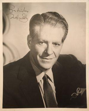 Nelson Eddy publicity portrait 1950s 7