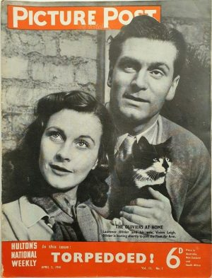 Picture post 1941 Vivien Leigh and Laurence Olivier