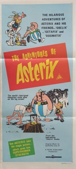 The Adventures Of Asterix daybill poster 3 (2)