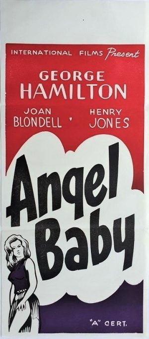 angel baby new zealand daybill poster 1961 Joan Blondell