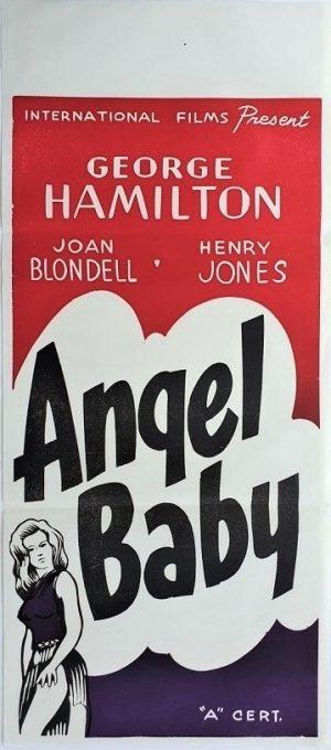angel baby new zealand daybill poster 1961 Joan Blondell