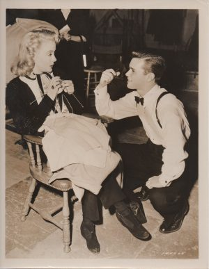 any number can play 1949 publicity still with Darryl Hickman and Audrey Totter