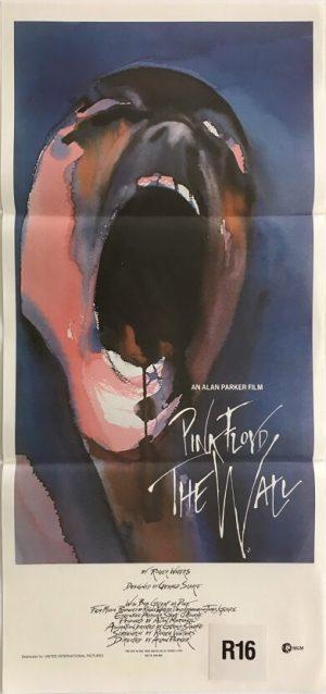 pink floyd the wall australian daybill poster