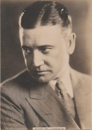 richard dix 1930s paramount varsity cigarettes portrait