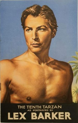 tarzan and the slave girl 1950 lex barker RKO promotional book (1)