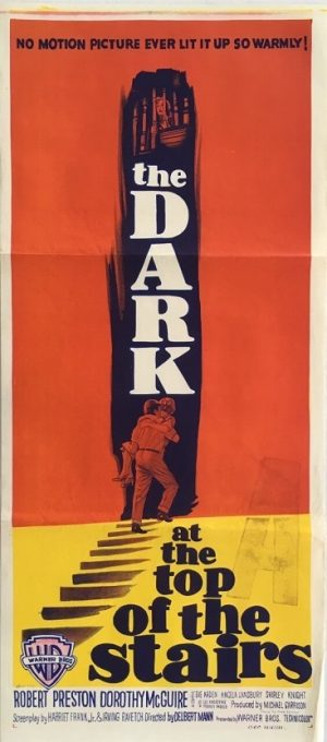 the dark at the top of the stairs australian daybill poster 1