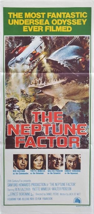 the neptune factor daybill poster 1973