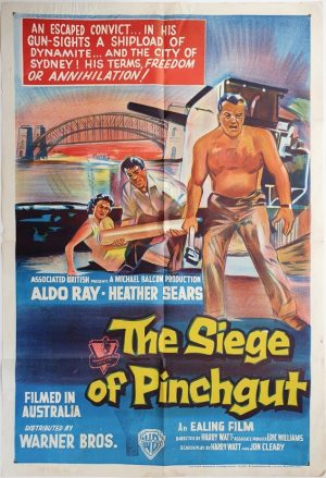 the siege at pinchgut australian one sheet poster 1959 No2