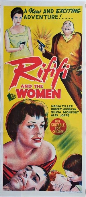 Rififi and the woman australian daybill poster 1959 also known as Du rififi chez les femmes and riff raff girls