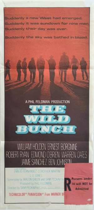 the wild bunch australian daybill poster 1 (2)
