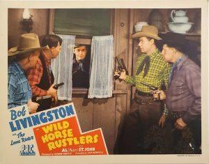 wild horse rustlers us lobby card 1943