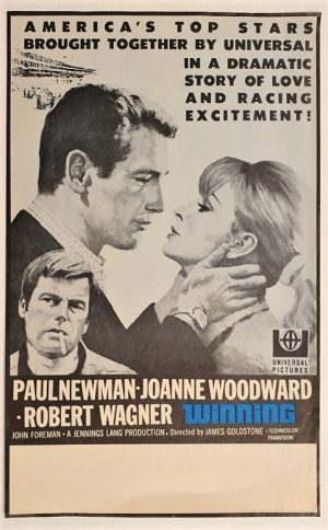 winning nz window card Paul Newman, Joanne Woodward, Robert Wagner