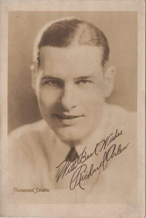 Richard Arlen 1920's Studio Portrait for Wings 1927