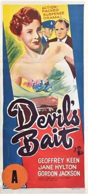 devil's bait austrlian daybill poster 1959