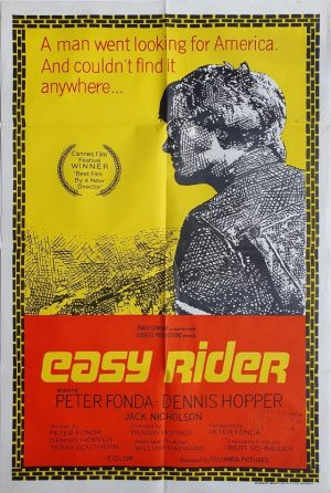 easy rider australian one sheet movie poster (4)