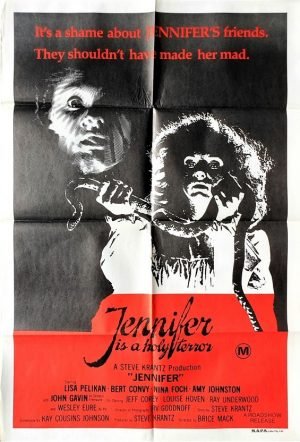 jennifer australian one sheet poster 1978 horror movie