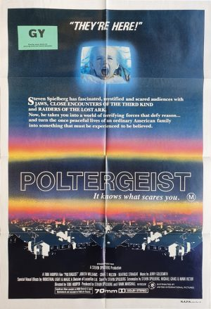 poltergeist australian one sheet movie poster steven spielberg (1)