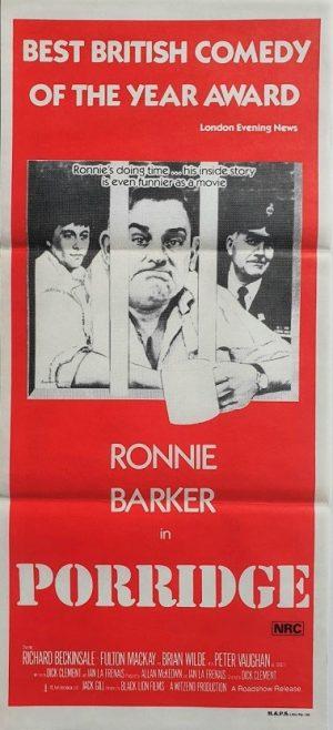 porridge australian daybill poster with Ronnie Barker (2)