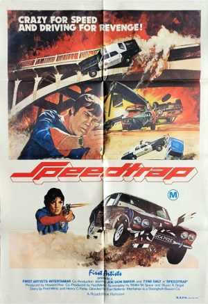 speedtrap australian one sheet poster 1977