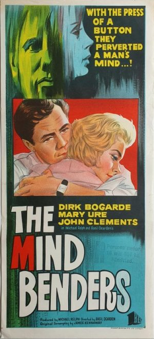 the mind benders australian daybill poster 1963 with Dirk Bogarde