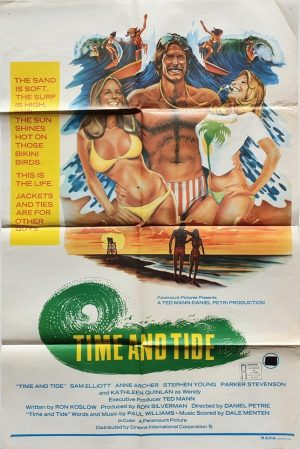 time and tide australian one sheet poster with sam elliott 1976