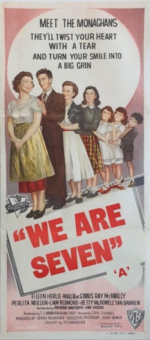 we are seven 1958 australian daybill poster also known as She Didn't Say No (2)