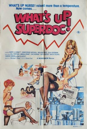 what's up superdoc australian one sheet poster tom chantrell artwork (2)