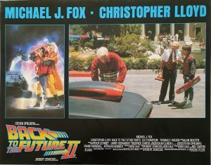 Back to the future 2 lobby card (10)