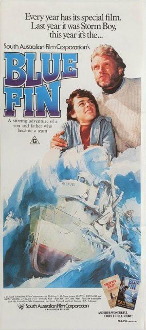 Blue Fin australian daybill poster 1978