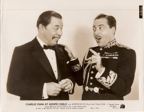 Charlie Chan at Monte Carlo 1937 US Still with Warner Oland