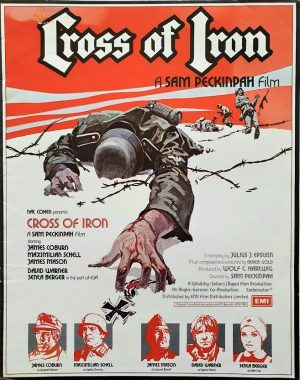 Cross of Iron UK Press Book with Sam Peckinpah, James Coburn and Maximilian Schell (3)