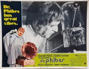 Dr Phibes US Lobby Card with Vincent Price 1971 (3)