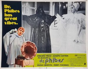 Dr Phibes US Lobby Card with Vincent Price 1971 (2)