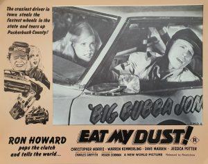 Eat my dust australian lobby card with Ron Howard 1976
