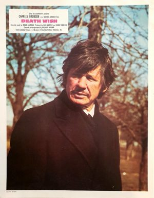 Death wish lobby card with Charles Bronson 1974