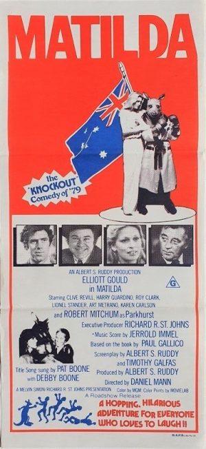 Matilda australian daybill poster 1978