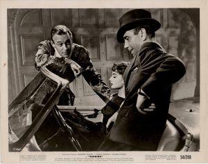 Sabrina US Still with Humphrey Bogart and Audrey Hepburn 1954