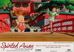 Spirited away 2001 Australian Lobby Card Japanese Manga Animation (9)