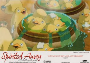 Spirited away 2001 Australian Lobby Card Japanese Manga Animation (2)