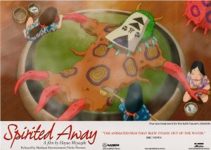 Spirited away 2001 Australian Lobby Card Japanese Manga Animation (4)