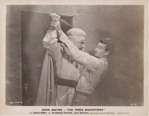 The Three Musketeers 1933 US Still with John Wayne and Al Ferguson