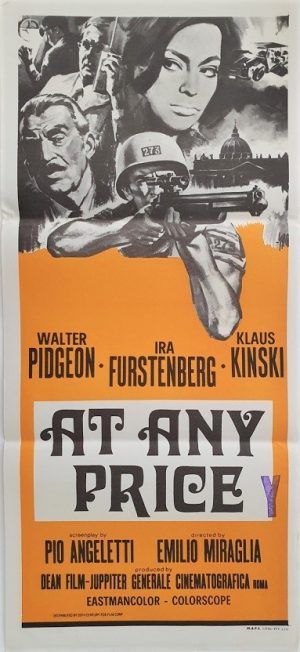 at any price / the vatican affair australian daybill poster 1965